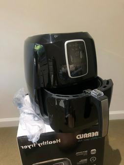 Emerald SM-AIR-1804 Air Fryer 1800 W with LED Touch Display