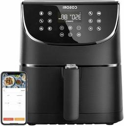 COSORI Smart WiFi Air Fryer 5.8QT,1700-Watt Programmable Bas