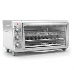 Stainless Steel Toaster Oven And Air Fryer Extra Wide Crisp