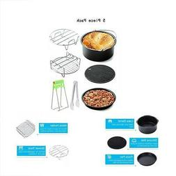 Universal 7 Piece Air Fryer Accessory Pack for Gowise Philli