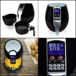 Upgraded Electric Fryer Oven Easy TouchScreen Display Anti R