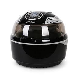 KLARSTEIN VitAir Turbo Hot Air Fryer • Reduced-Fat Frying,