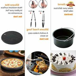 XL Air Fryer Accessories 8 Inch for Gowise Phillips Power Nu