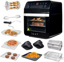 Air Fryer Oven Large Capacity Rotisserie and Dehydrator Kitc