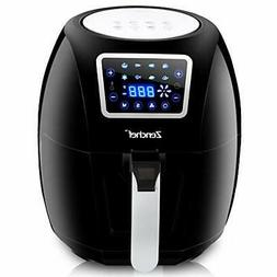 ZenChef PRO XXL Hot Air Fryer Family Size 5.8 Qt. 8-in-1 Dig
